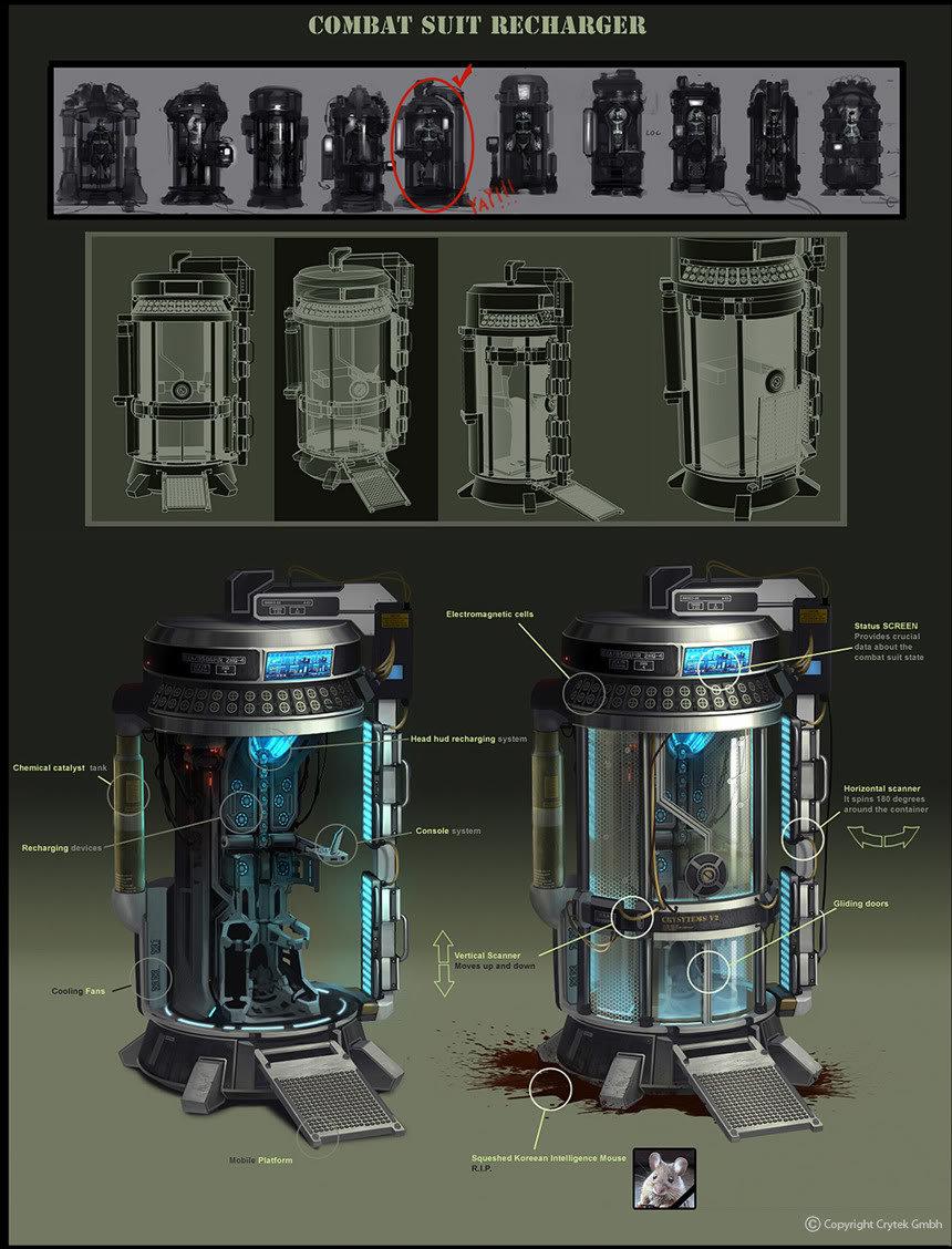 NanoSuit Recharger Concept