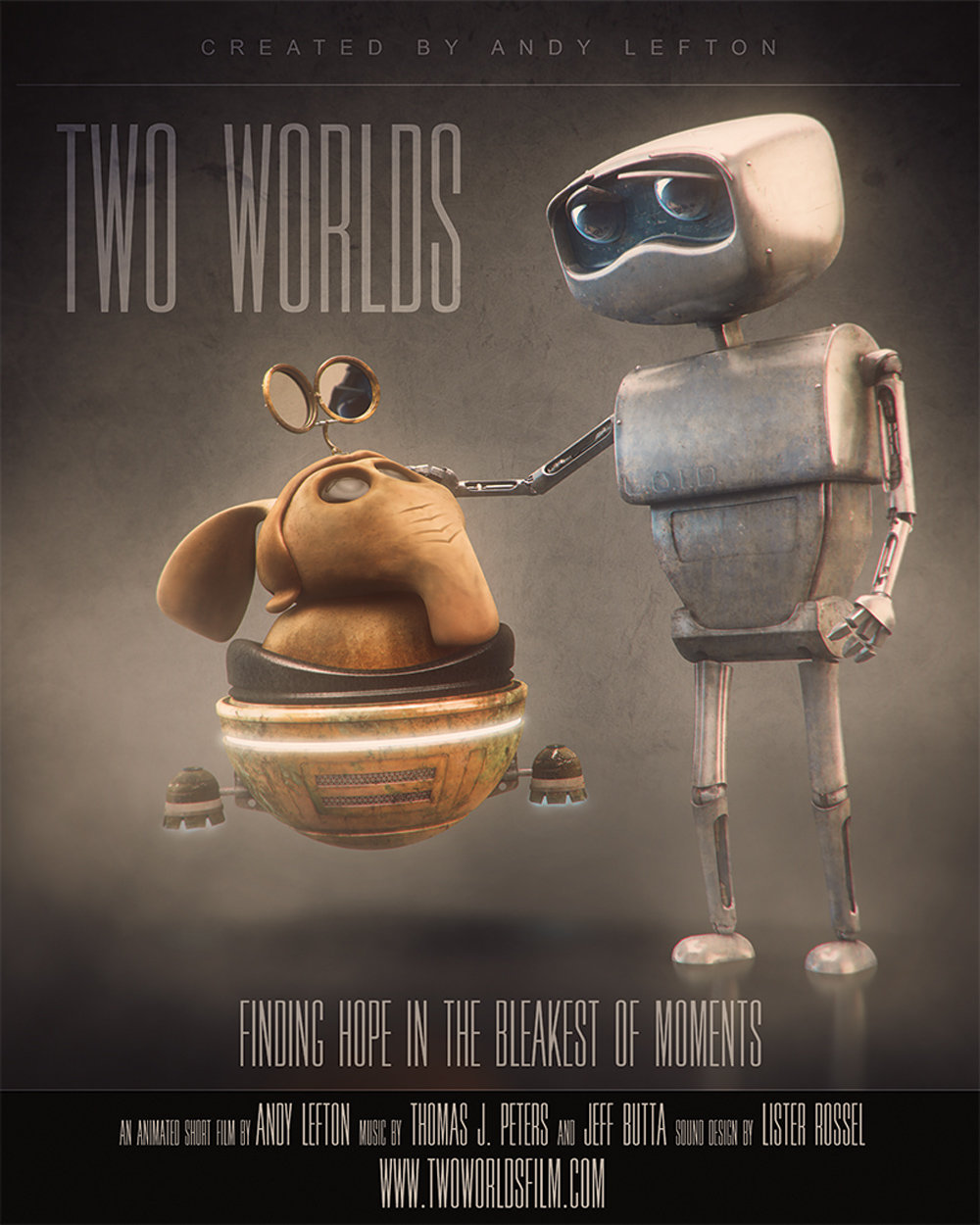 Two Worlds - 3D animated short film