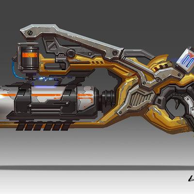 Rock d strange gun