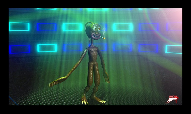 Marc mons 3d animation alien dancing by marcmons007 d57jfnw