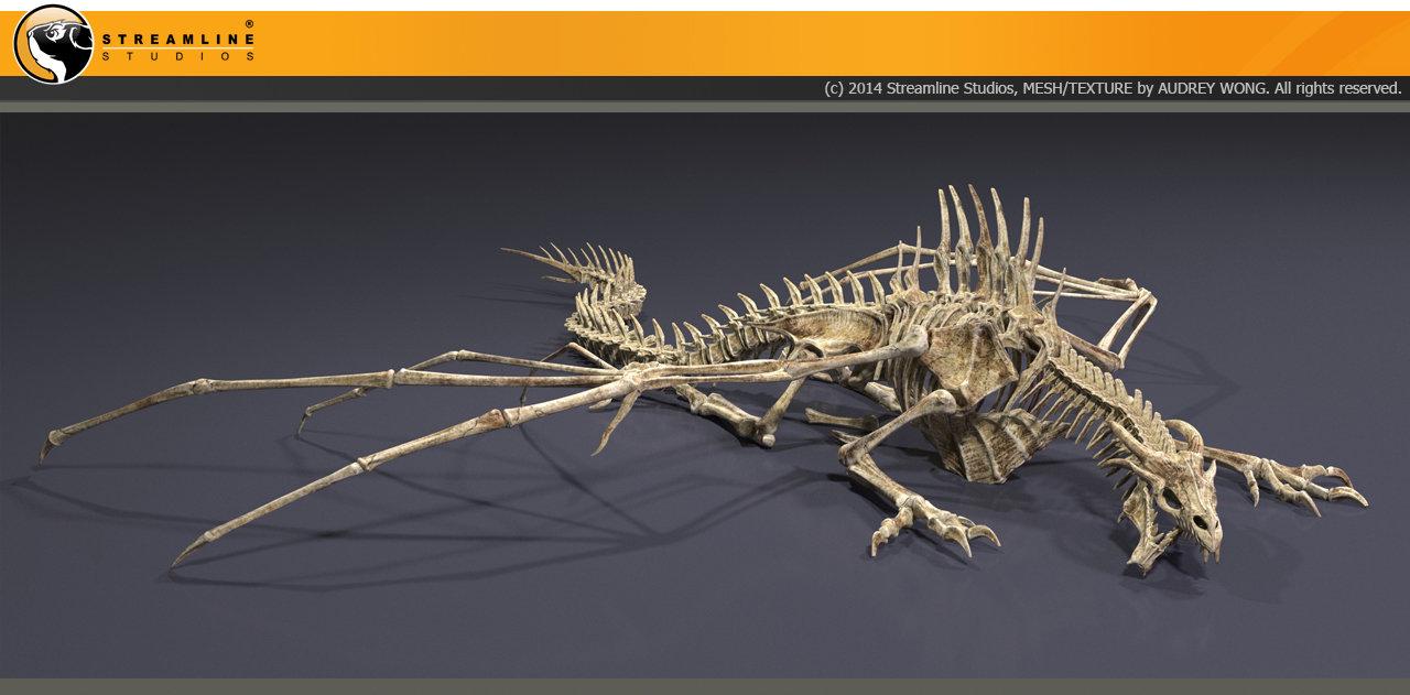 Audrey wong dragon skeleton 2