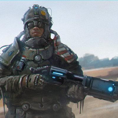 Sergey vasnev soldier concept