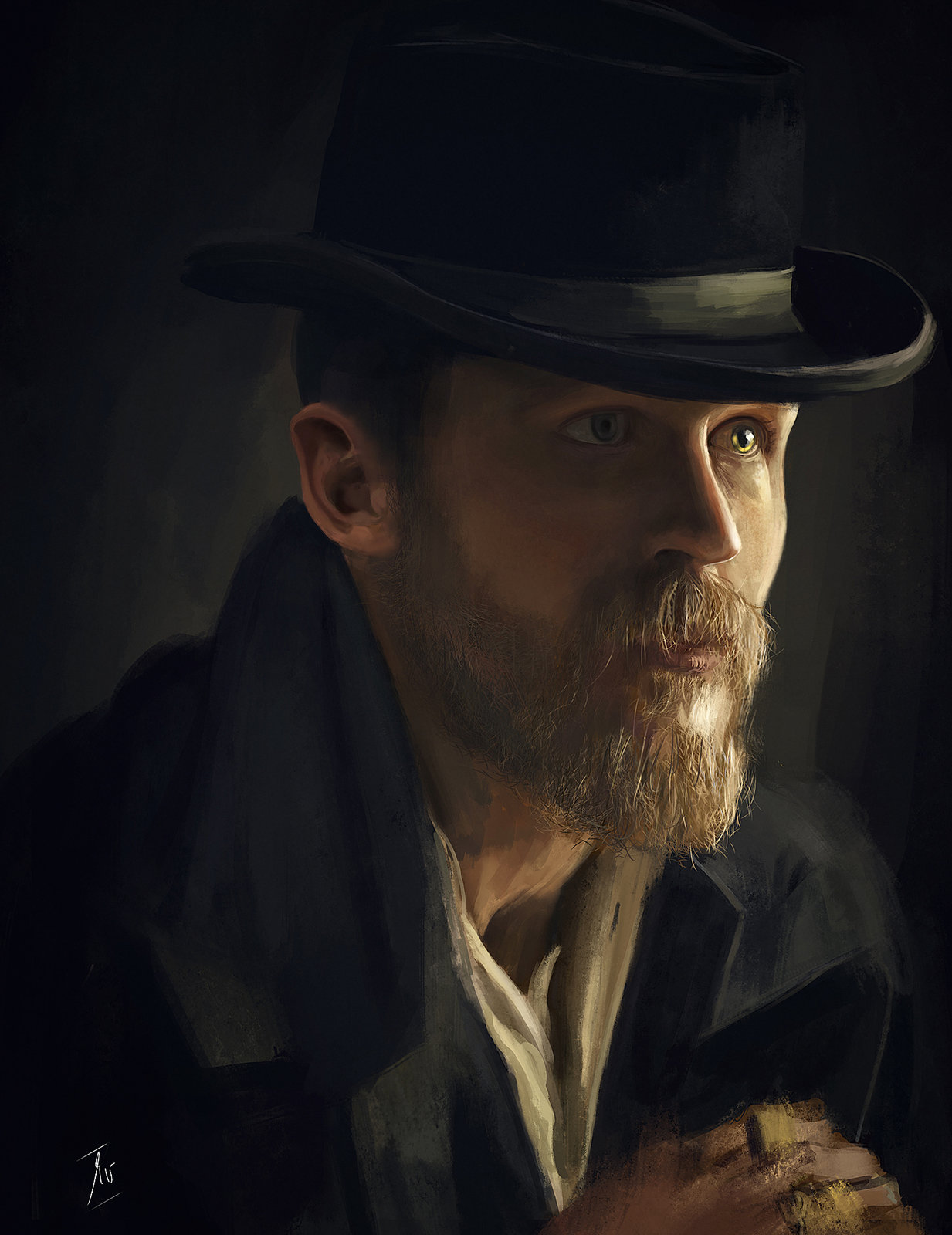 Tom Hardy as Alfie Solomons