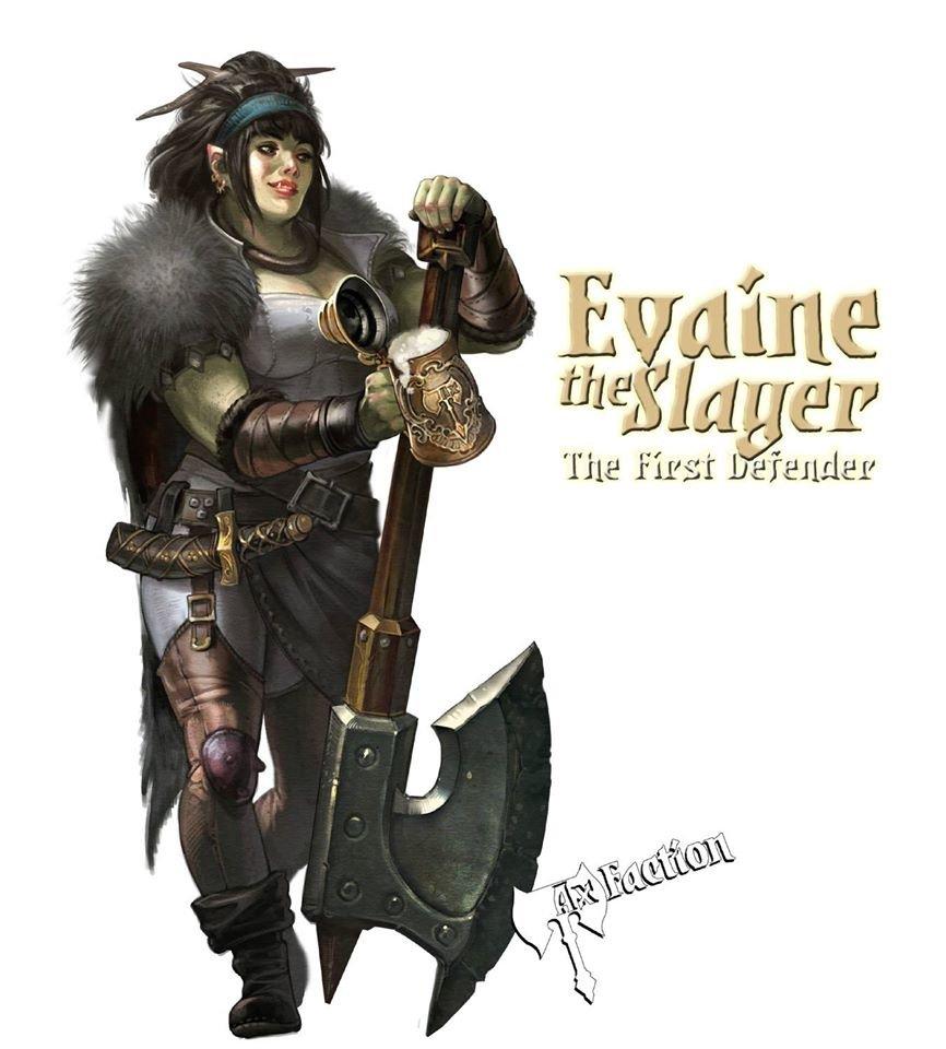 Evaine The Slayer