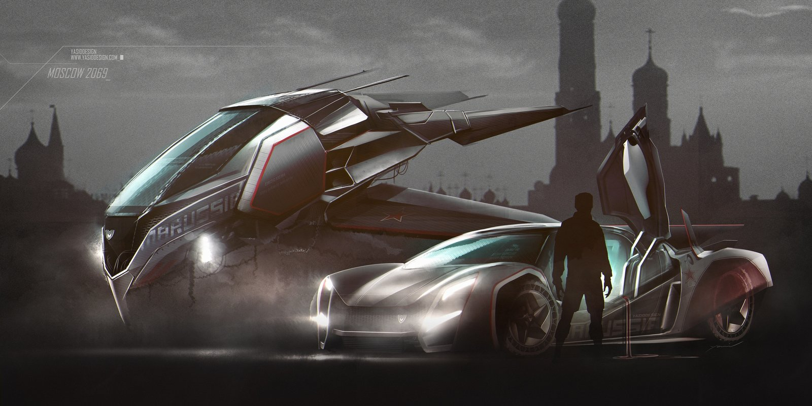 Moscow 2069 with Marussia