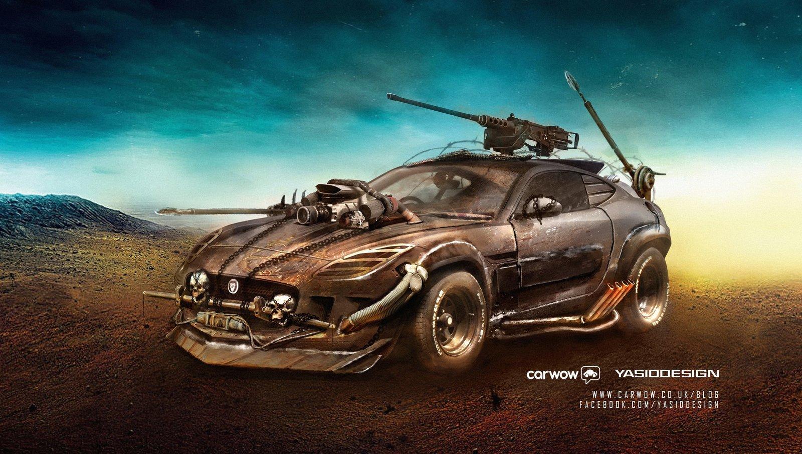 Jaguar F-Off-Type.