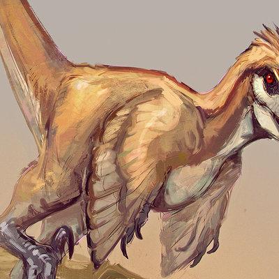 Jonathan kuo raptor sketch