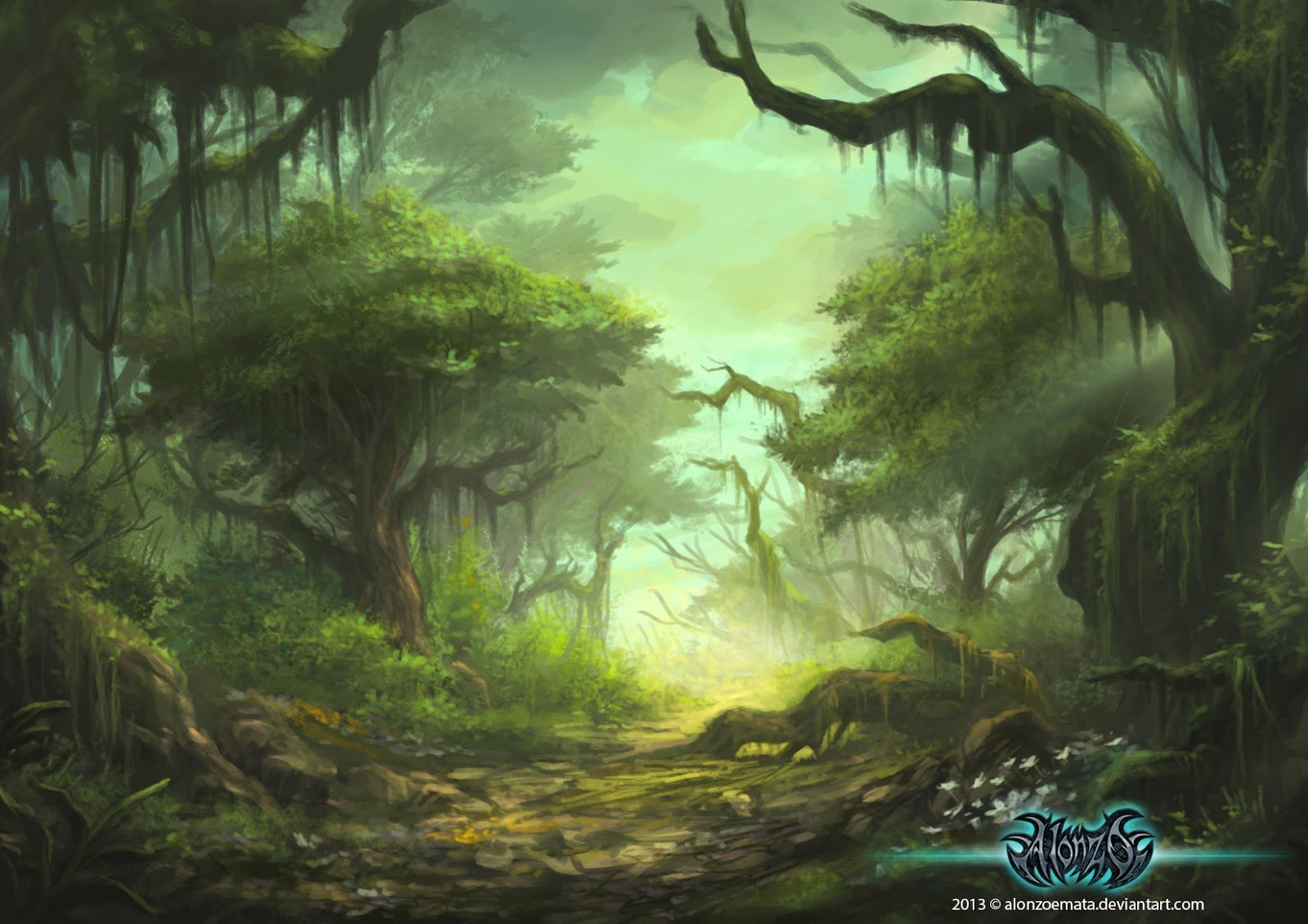 Alonzo emata forest by adriellem d79zy28