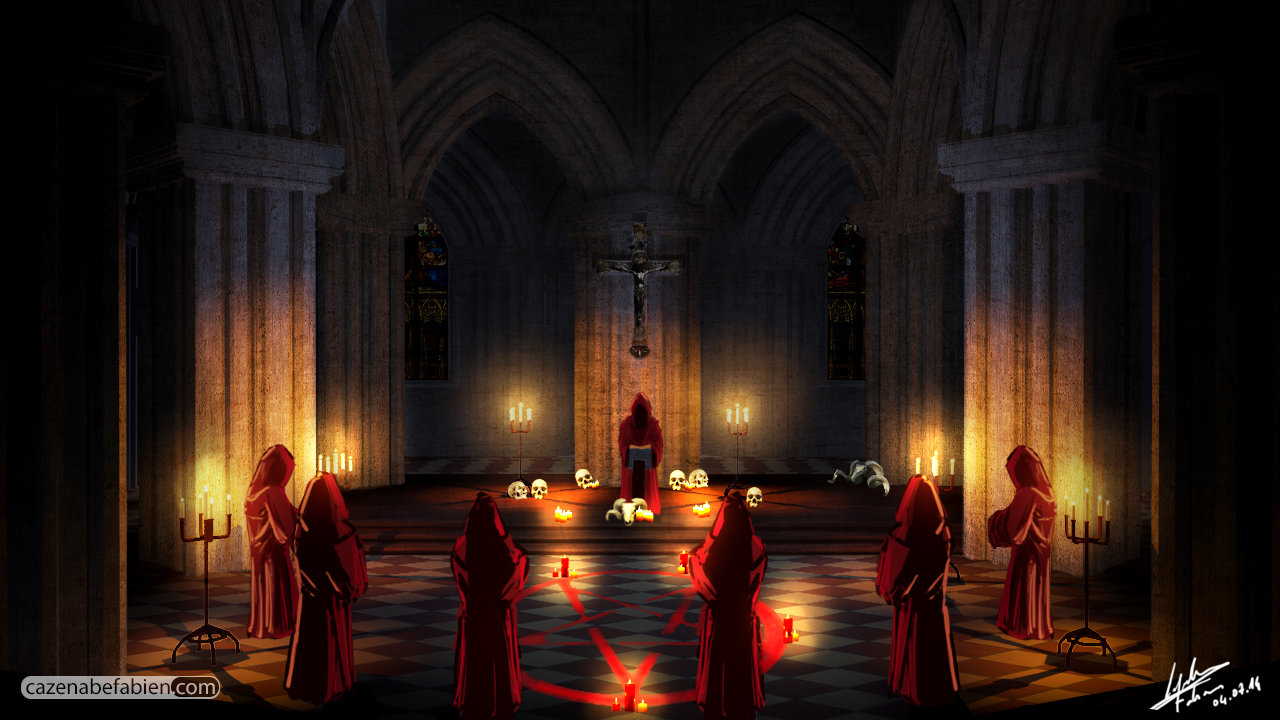 Fabien cazenabe cathedrale night 01