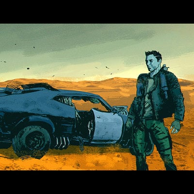 Chris shehan mad max fanart
