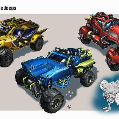 Brandon jones submersible jeeps color