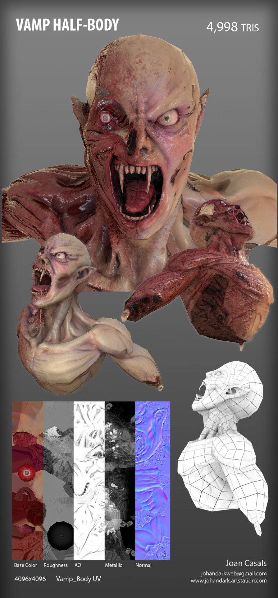 Joan casals vamp body vision