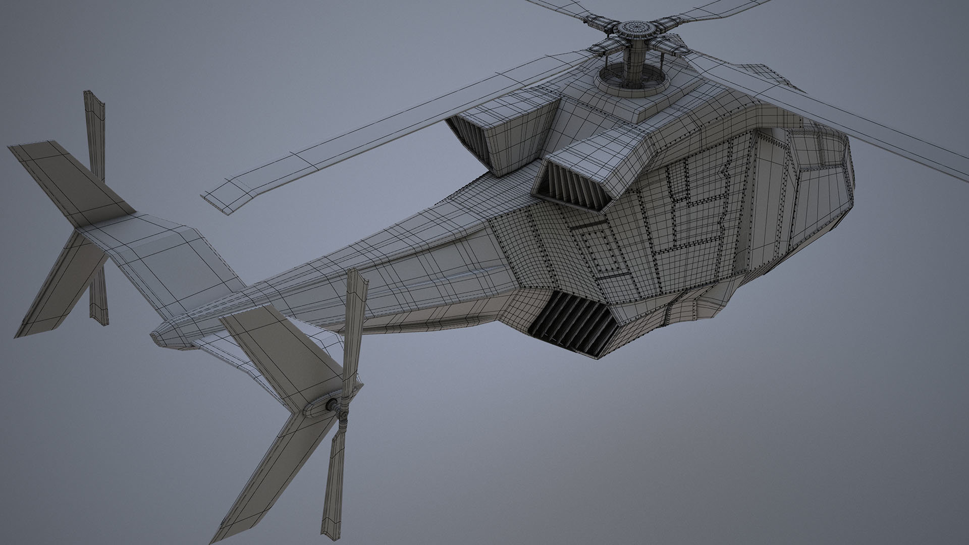 Benjamin becker heli final grey2 wireframe
