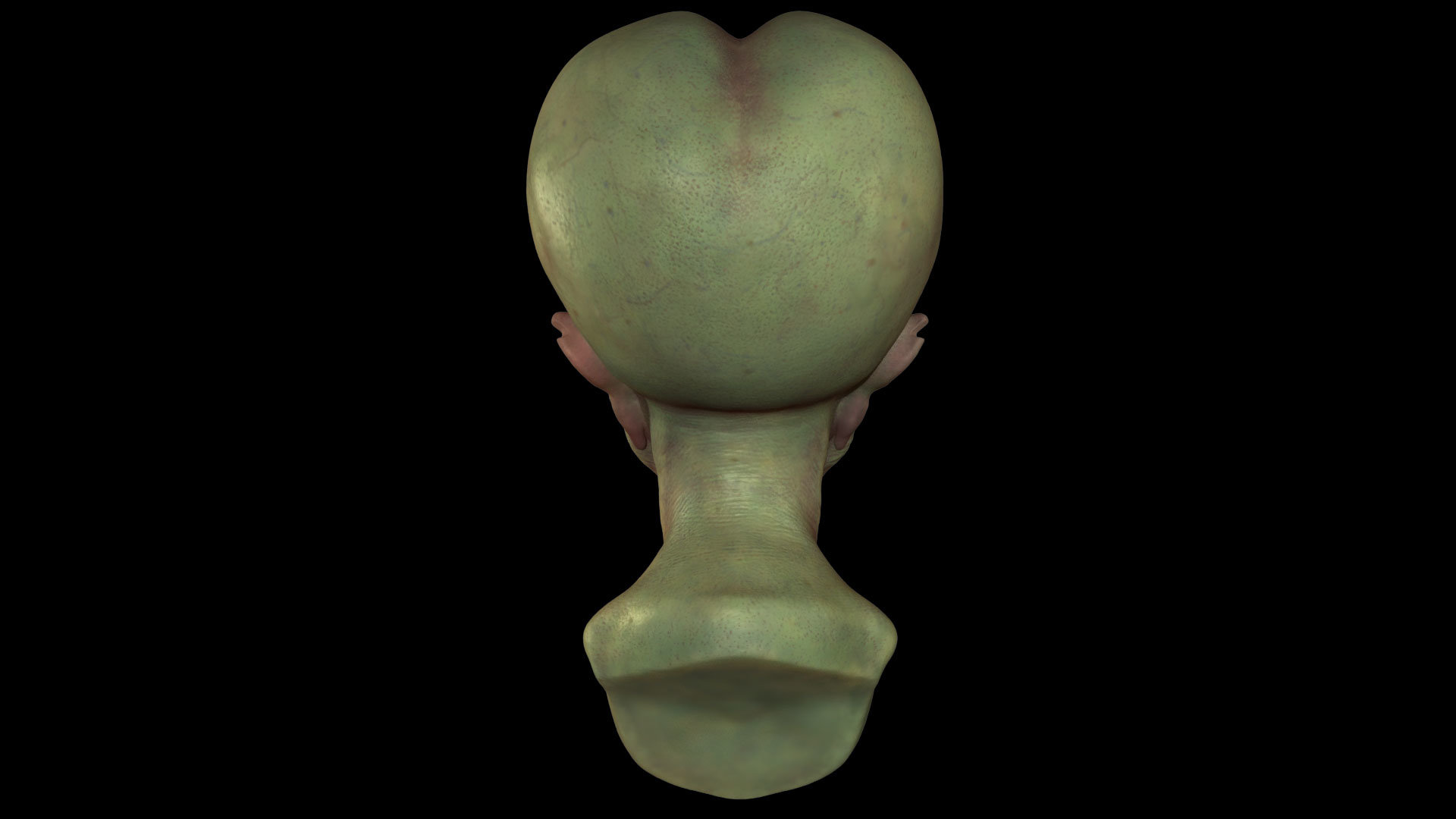 David chaney 04 alien back