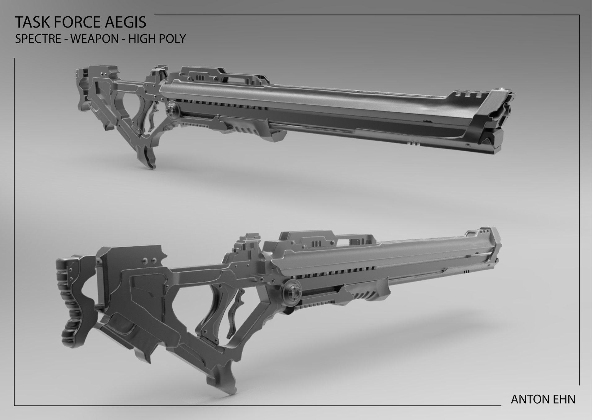 Anton ehn spectre weapon render