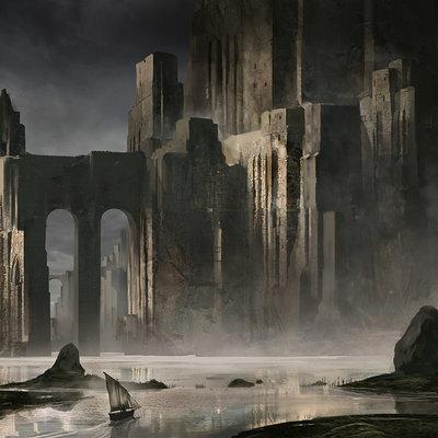 Jeff brown castle ruins