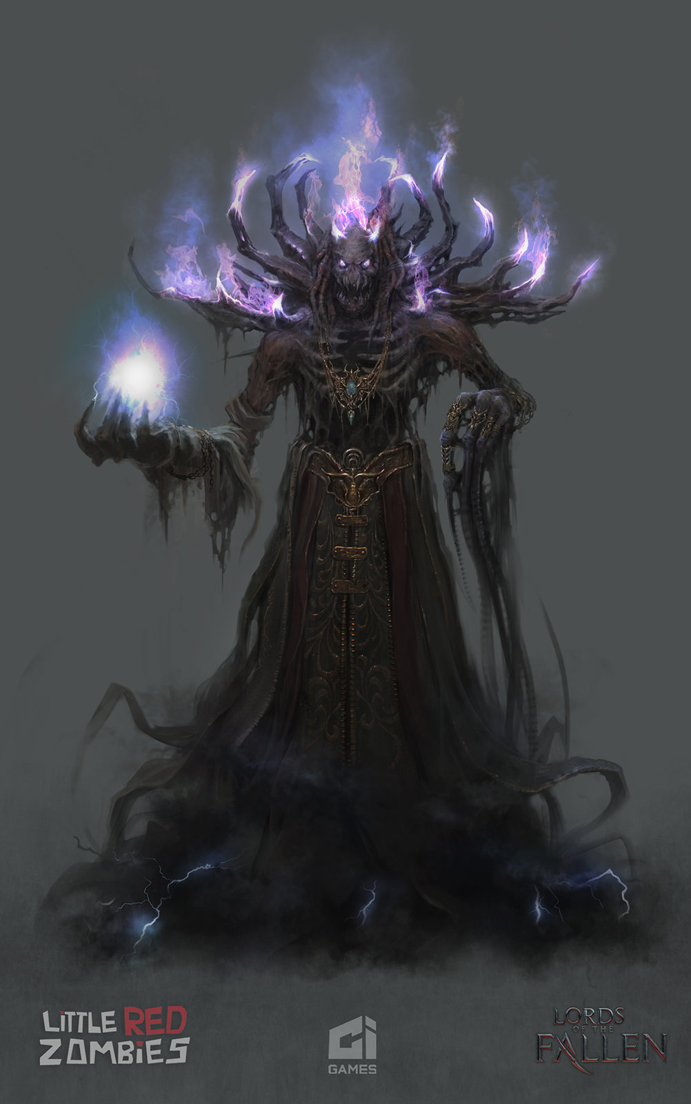Boss Demon Priest- Lords of the Fallen