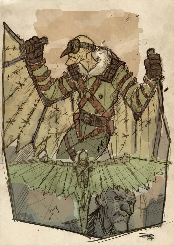 Denis medri vulturesteampunkcol