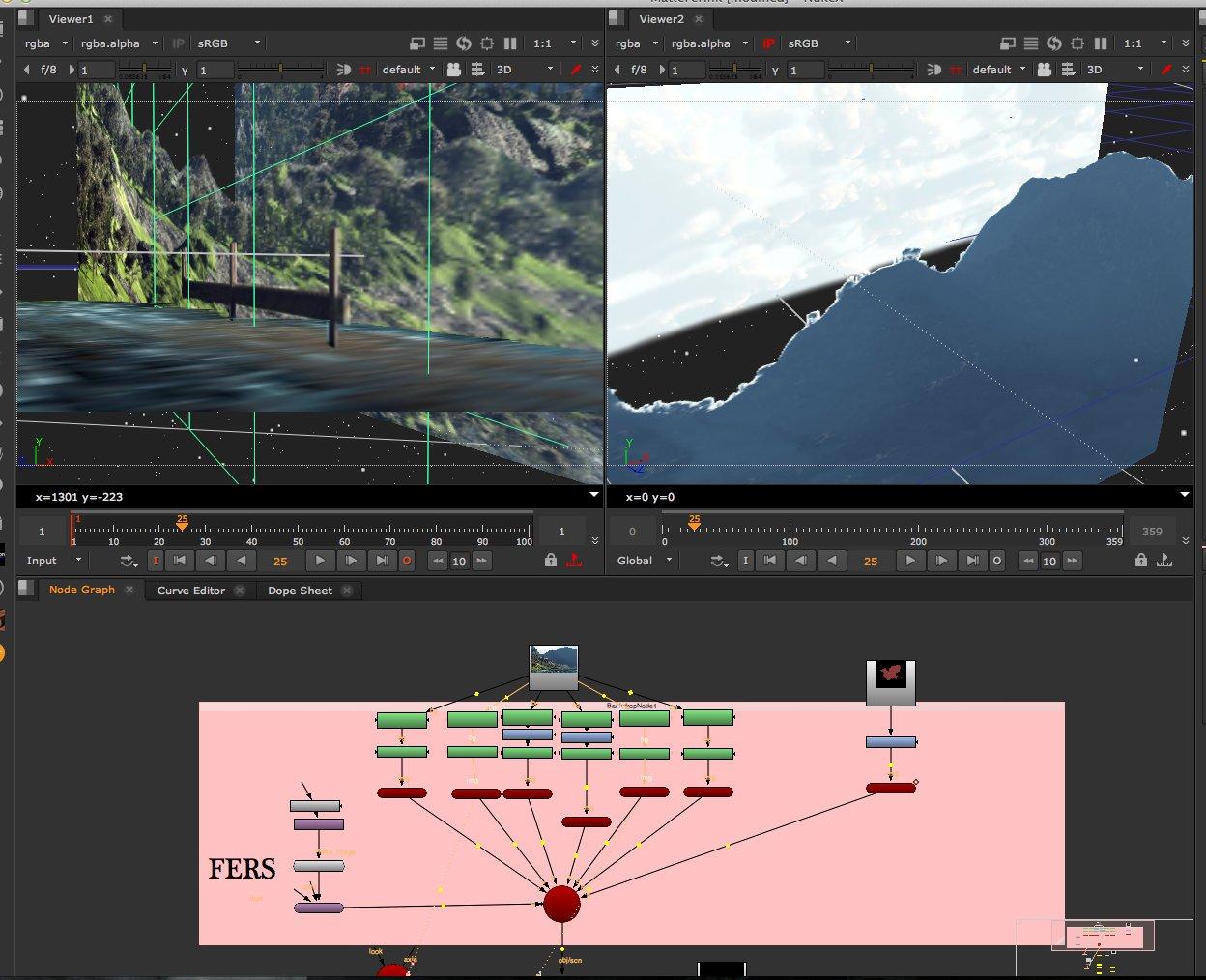 ArtStation - Creating 3D Scene with 2D Image - Nuke
