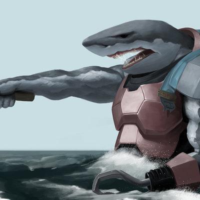 Andre bengtsson shark