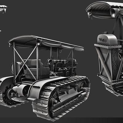 Raul aparicio tractor high big