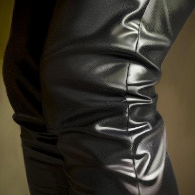Guenter zimmermann black trouserscontrast