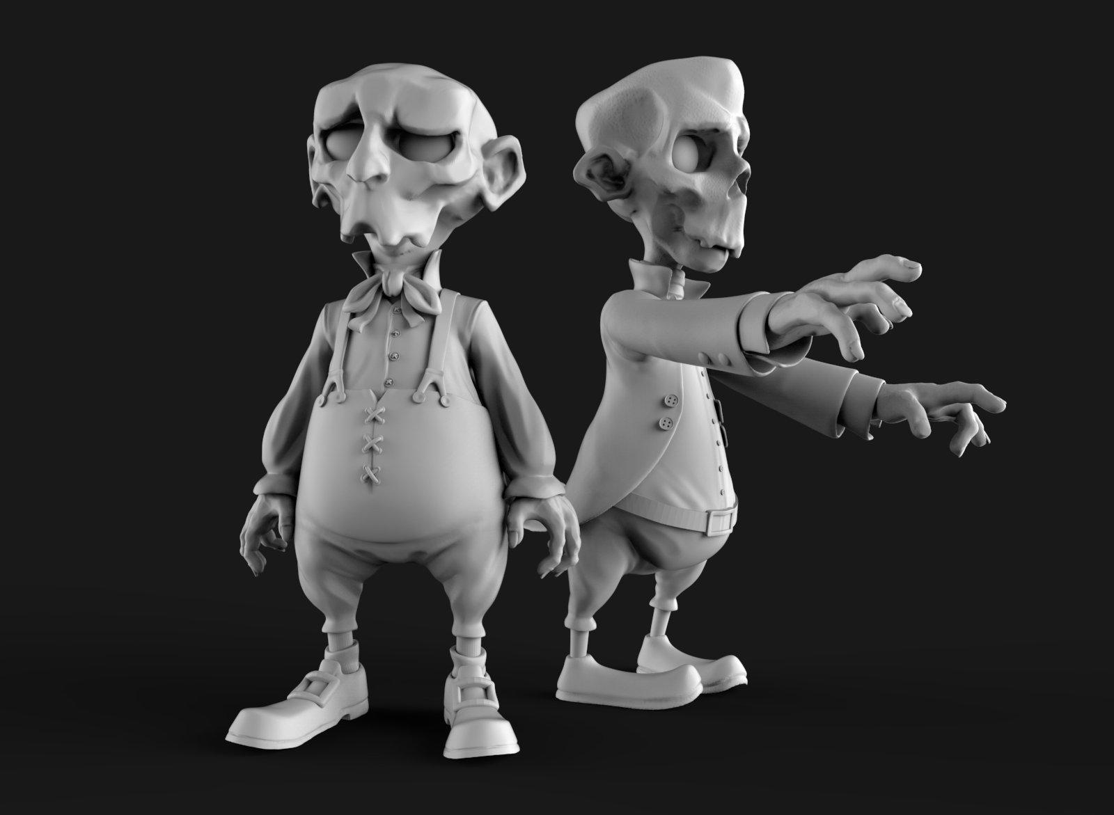 Zombie brothers