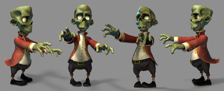 1st Renaissance zombie