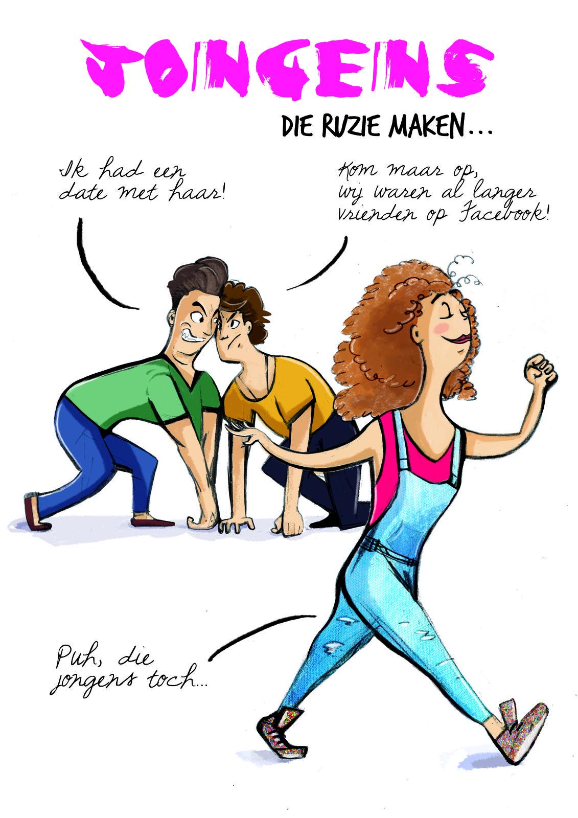 Joepie cartoon