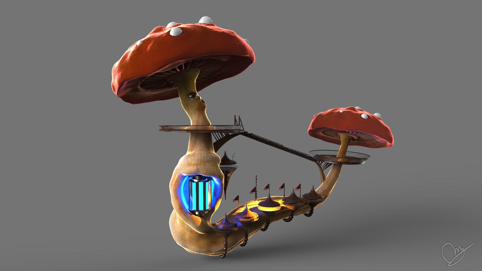 Mushroom House - Station