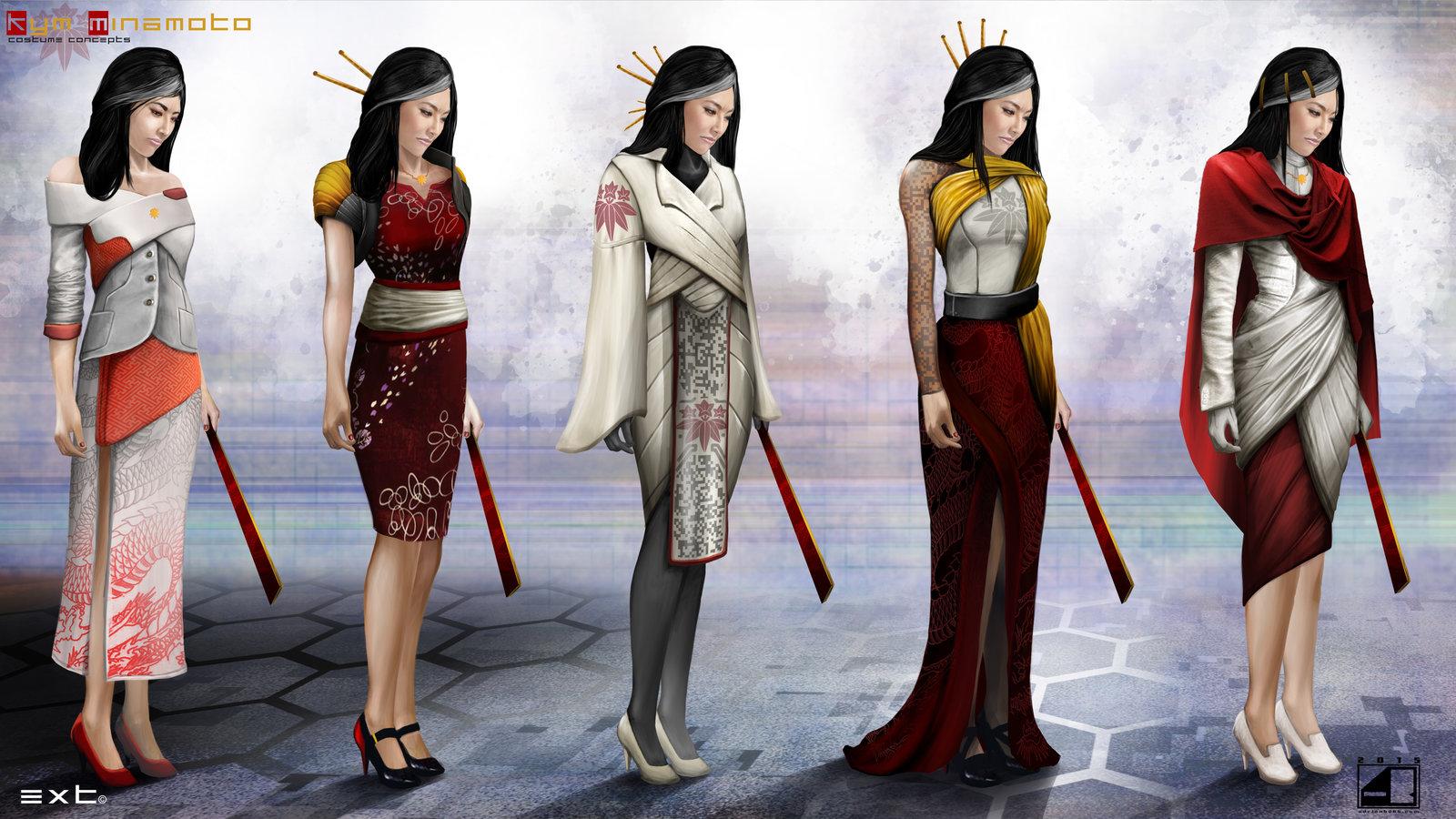 Kym Minamoto Costume Concepts