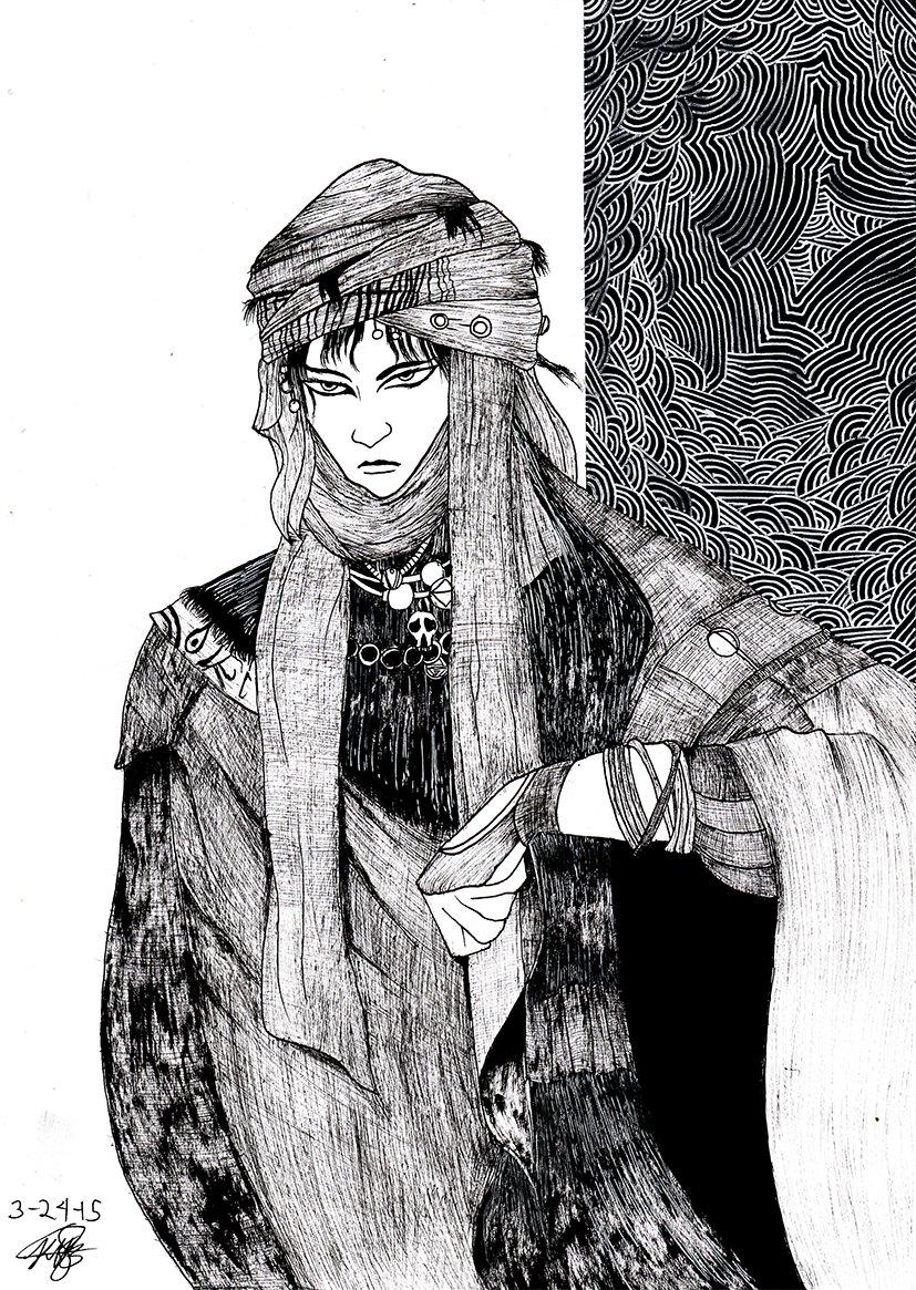 how to draw like yoshitaka amano