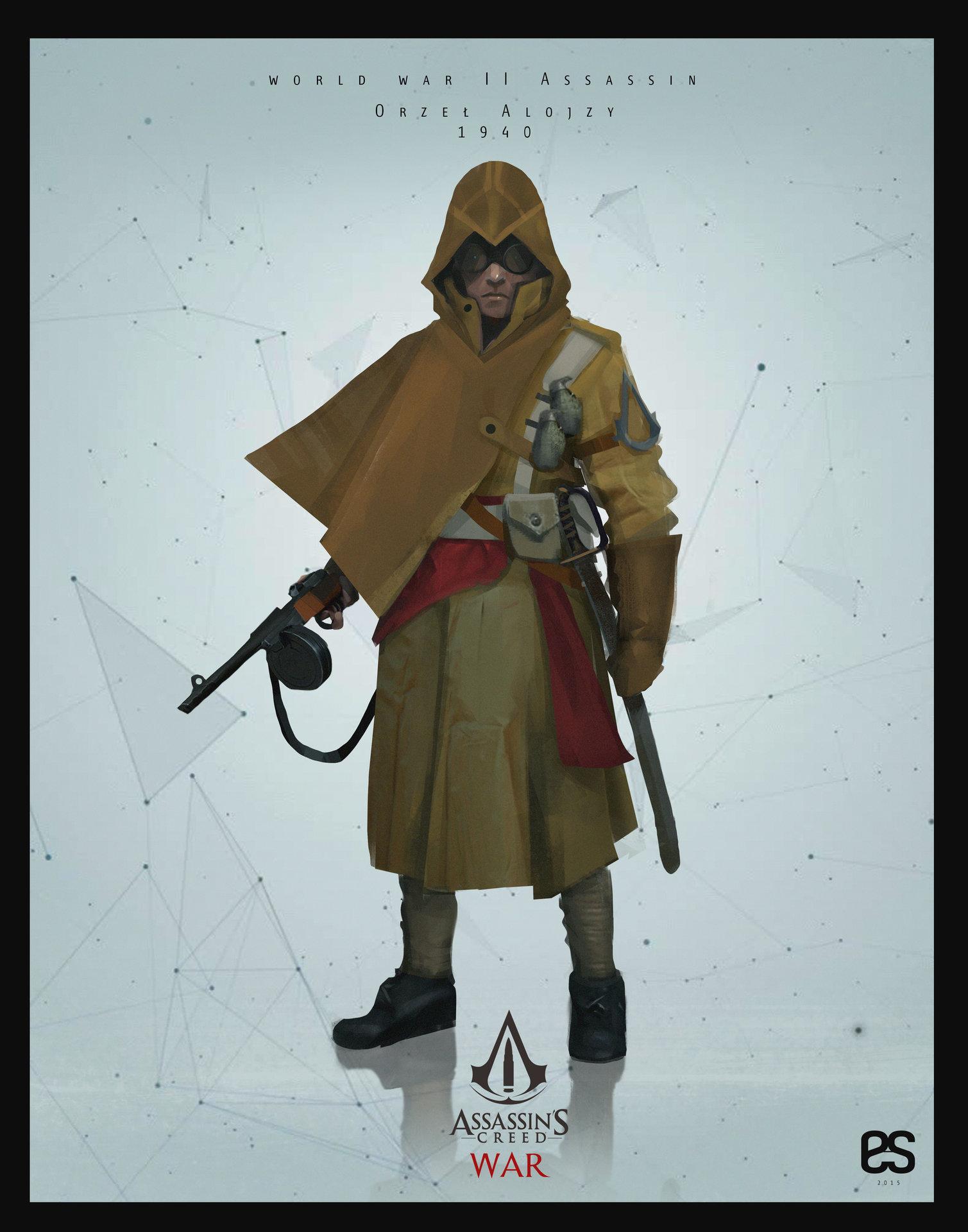 Artstation Assassin S Creed War Erick Sambora