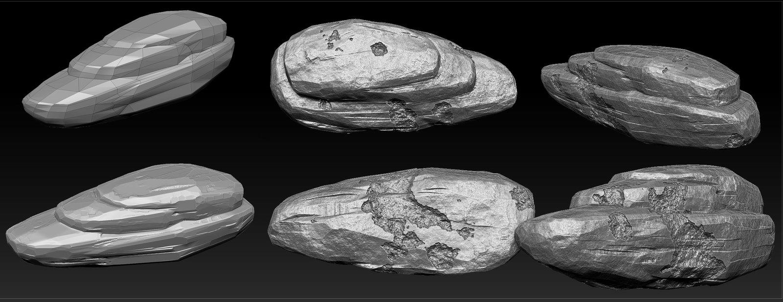 Dan ene rock sculpt zbrush by idanene d7s6fdo