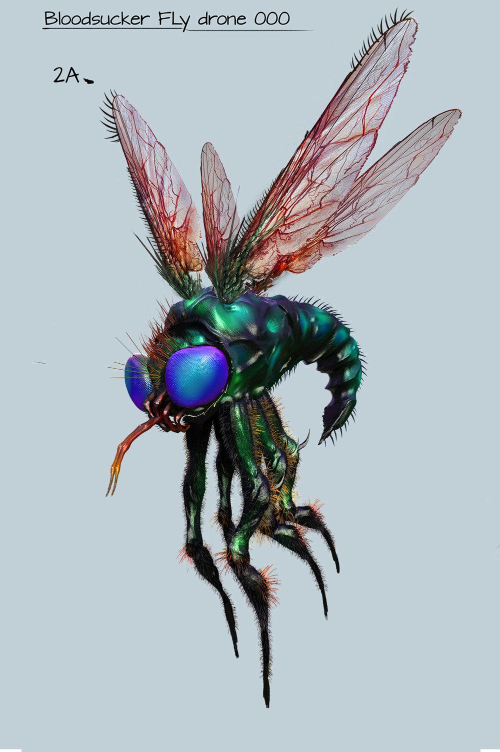 Vnmribaya geronimo ribaya bloodsucker fly drone a2
