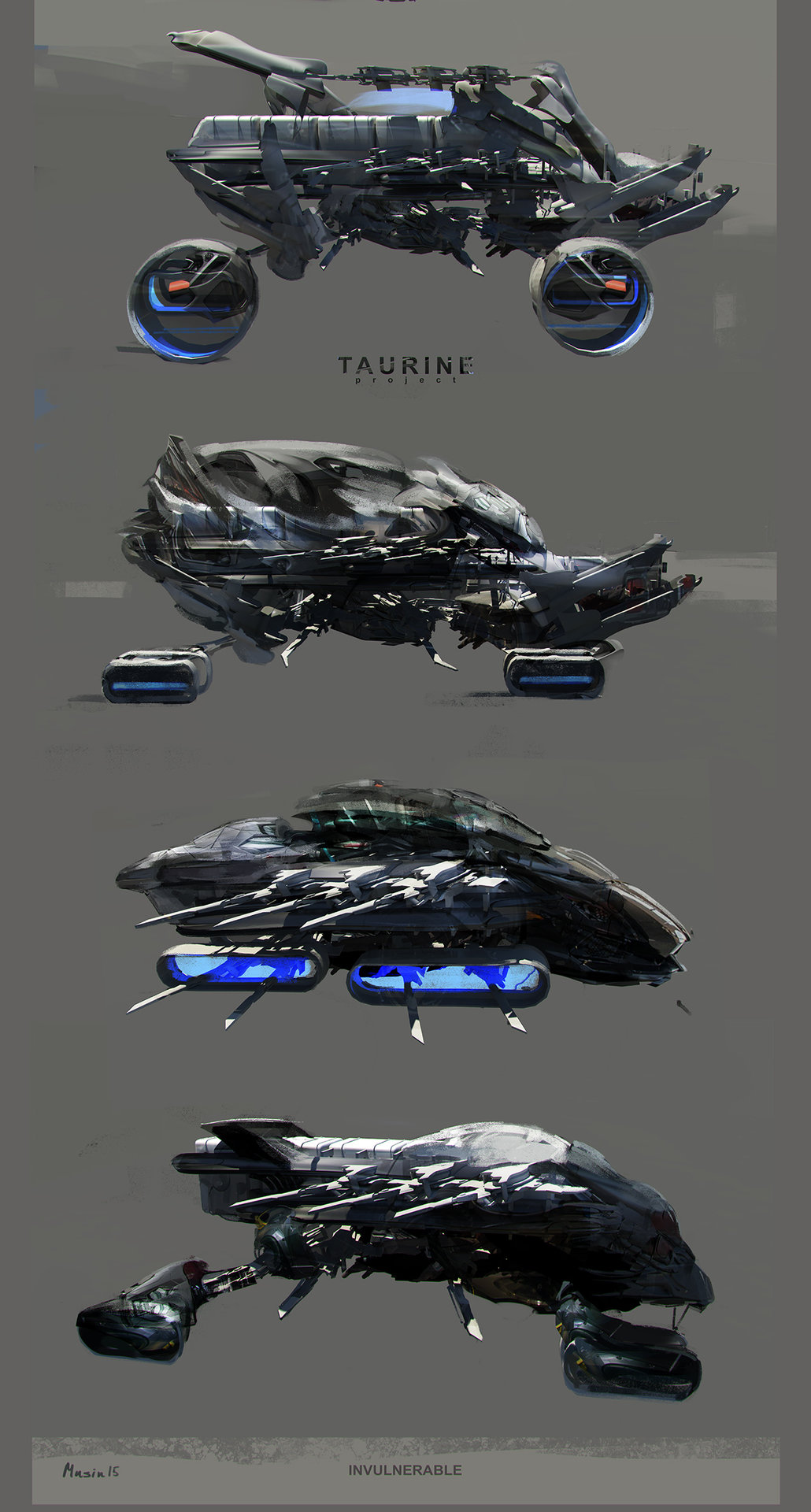 Sergey musin taurine transport concept ideas