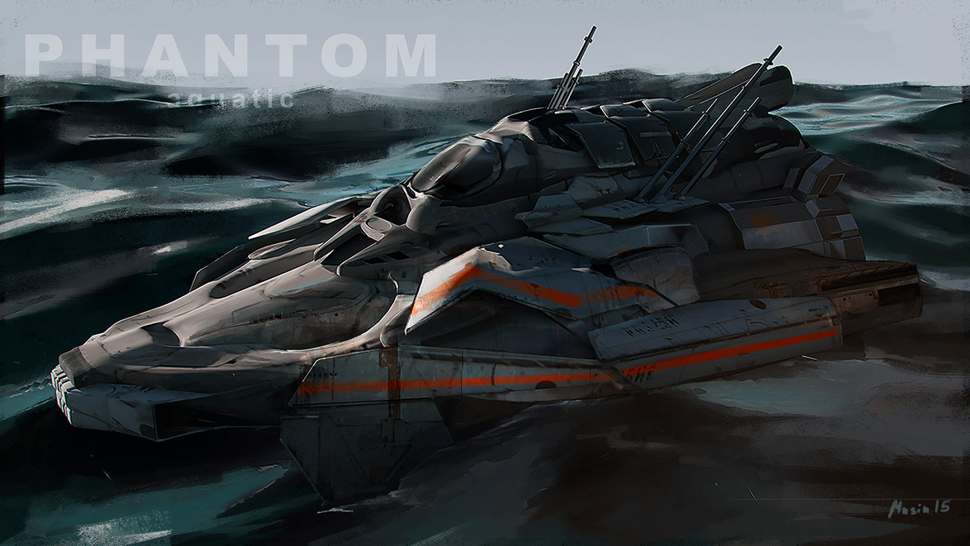 Sergey musin phantom aquatic concept