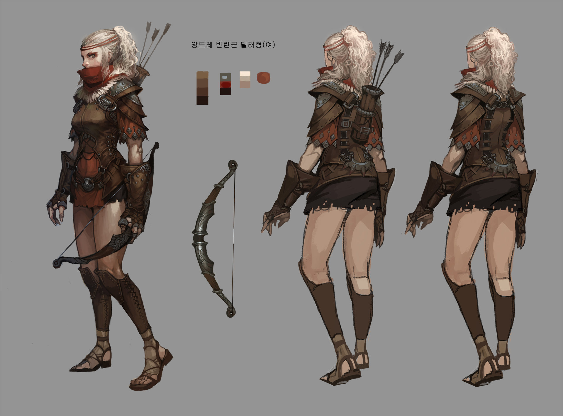 Character Design Art Station : Juhan na andre
