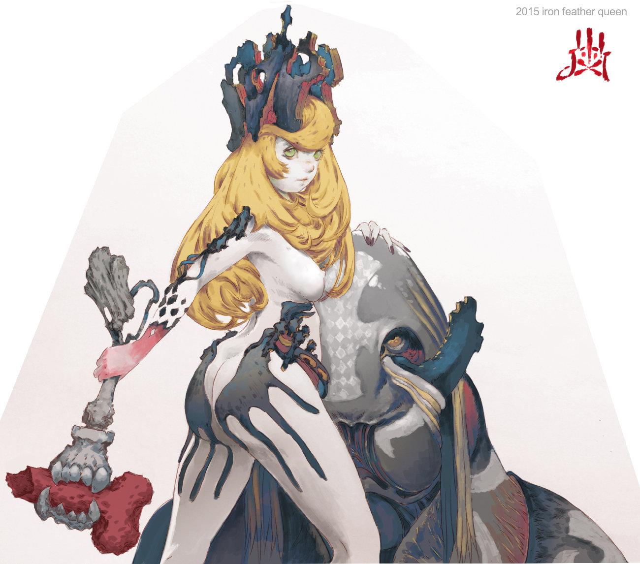 iron feather queen ELSA