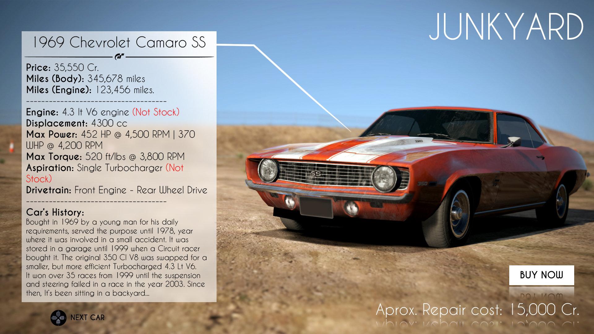 ArtStation - Gran Turismo 7- Concept Art UI, Abimelec Arellano