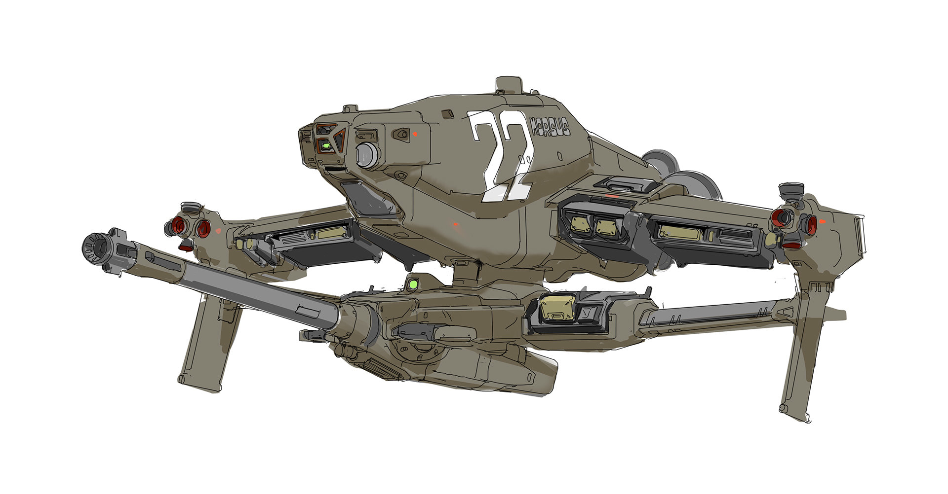 John liberto morsus gunship