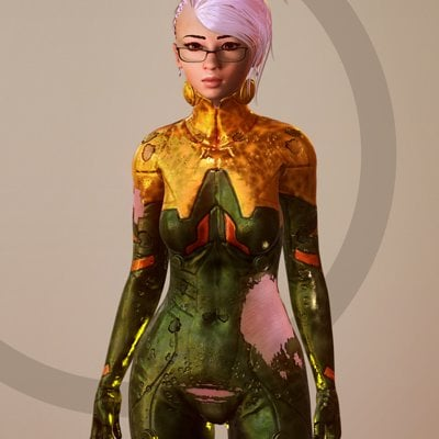 Denis matei sci chick render 5
