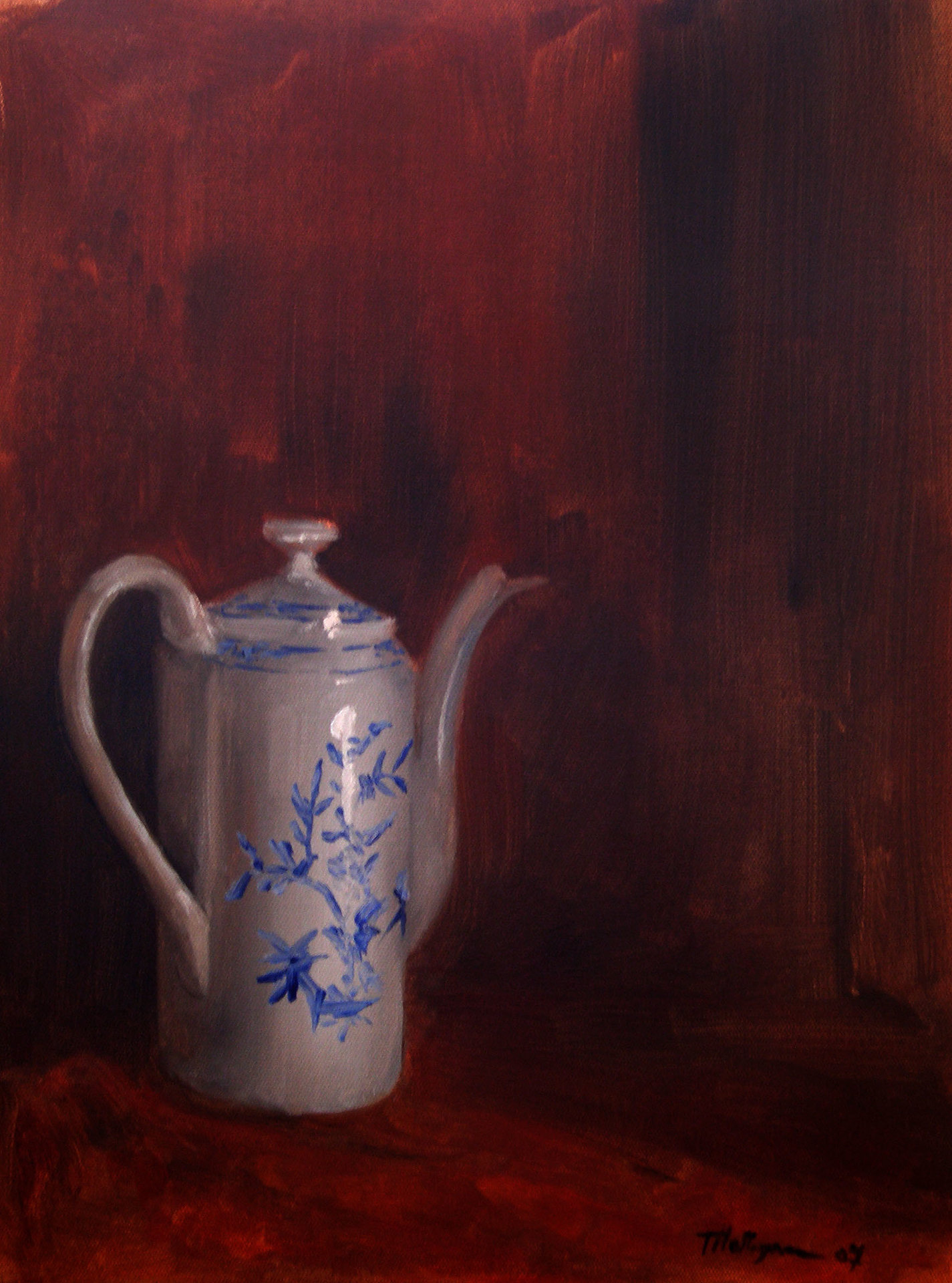Tim holleyman tea pot