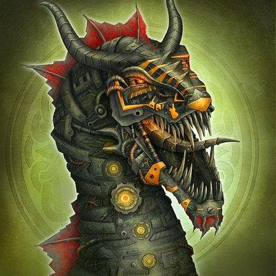 Aishwaary anant robot dragon