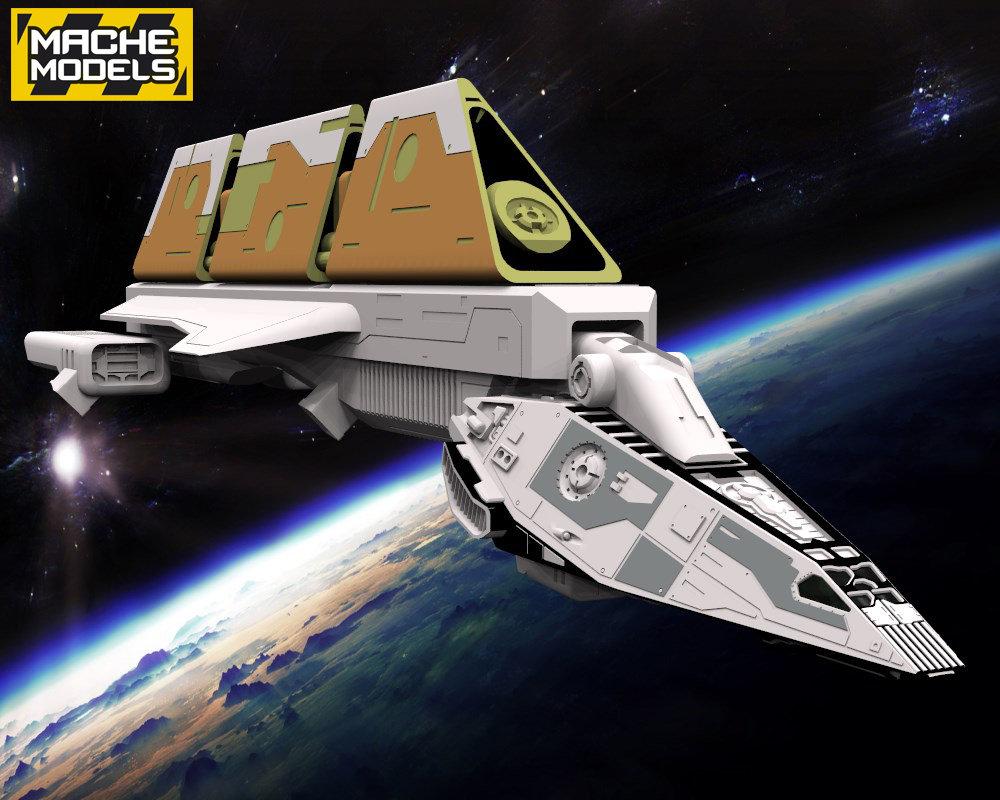 German impache render cargo 2