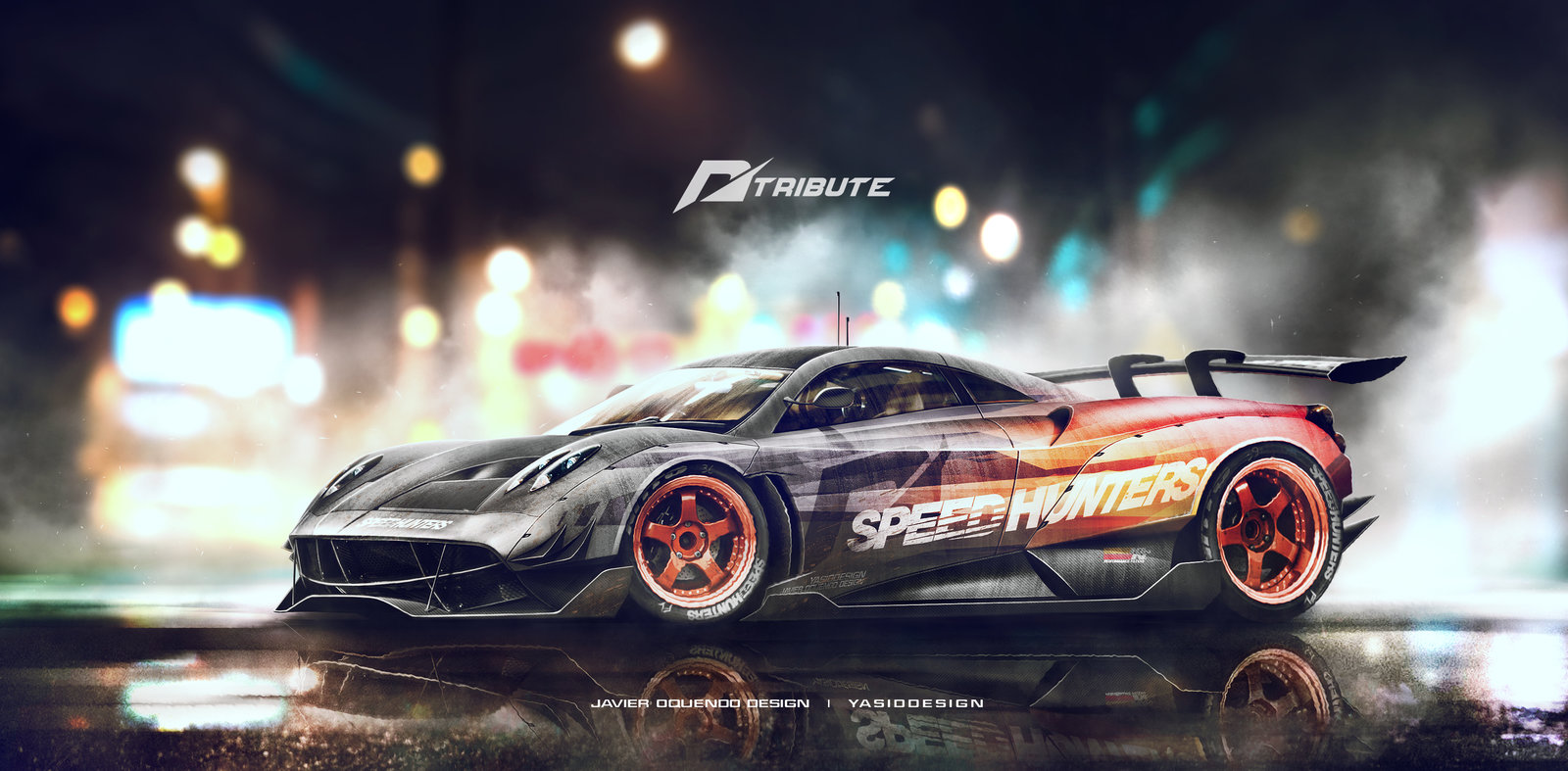 Speeduhnters Pagani Huayra - Need for speed tribute