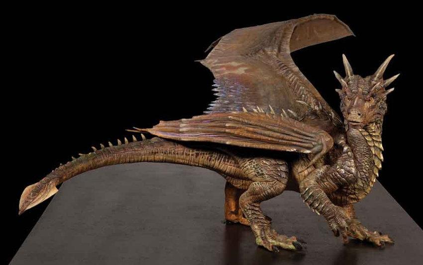 Artstation Dragonheart Maquette Peter Konig
