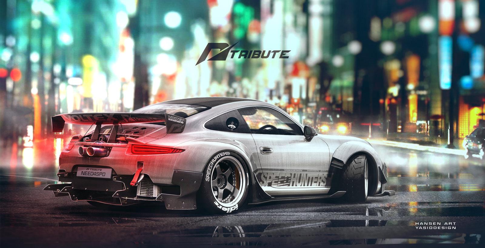 Speedhunters Porsche 911 - Need for Speed Tribute