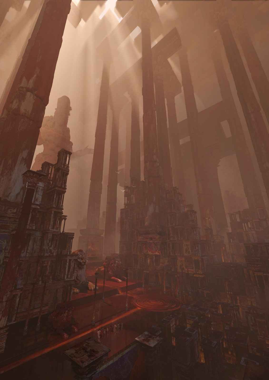 wonder: temple of artmies