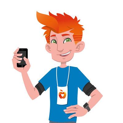 Leon bolwerk karakter iphoned